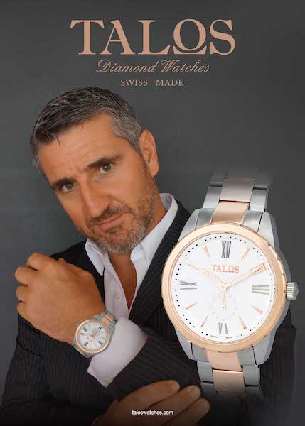 Richard Crawford, Founder of Richard Crawford Luxury, for Talos Watches