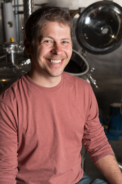 Will Maschmeier, Founder of the 3 Howls Distillery. Photography by Ari Shapiro - The Whisky Guy