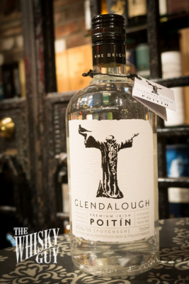 Poitin, a native Irish spirit made from Sugar Beets and Barley Malt, available at Chelsea Wine Vault