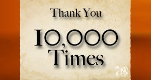 Thank You Listeners for helping me reach the 10,000 listener milestone!