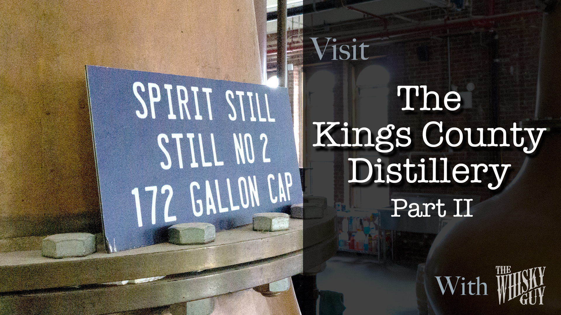 How is Kings County Whiskey made? Follow along as The Whisky Guy tours The Kings County Distillery in Brooklyn, NY and hear directly from Colin Spoelman, Co-Founder and Master Distiller. Part 2 of 3. Find more at TheWhiskyGuy.com. All original content © Ari Shapiro - TheWhiskyGuy.com