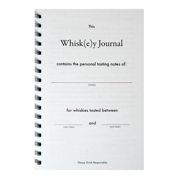 "Never loose track of your favorite whiskies! Room to take extensive notes on 100 different whiskies, including where and when to help you remember your favorites. With a forward by The Whisky Guy and clear instructions, each page of this spiral bound journal measures 4x6"" making it convenient to carry everywhere. From Glassware to Coasters to eBooks and Flasks and more, enjoy the whiskey lifestyle with these great products from The Whisky Guy! Sales and More at TheWhiskyGuy.com"