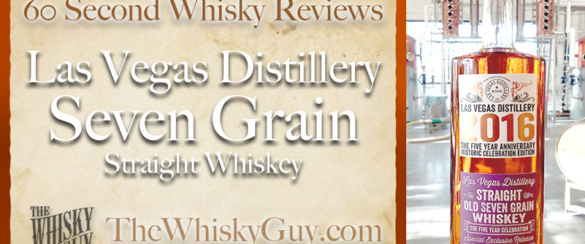 Does Las Vegas Distillery 7 Grain Straight Whiskey belong in your liquor cabinet? Is it worth the price at the bar? Give The Whisky Guy 60 seconds and find out! In just 60 seconds, The Whisky Guy reviews Irish Whiskey, Scotch Whisky, Single Malt, Canadian Whisky, Bourbon Whiskey, Japanese Whisky and other whiskies from around the world. Find more at TheWhiskyGuy.com. All original content © Ari Shapiro - TheWhiskyGuy.com