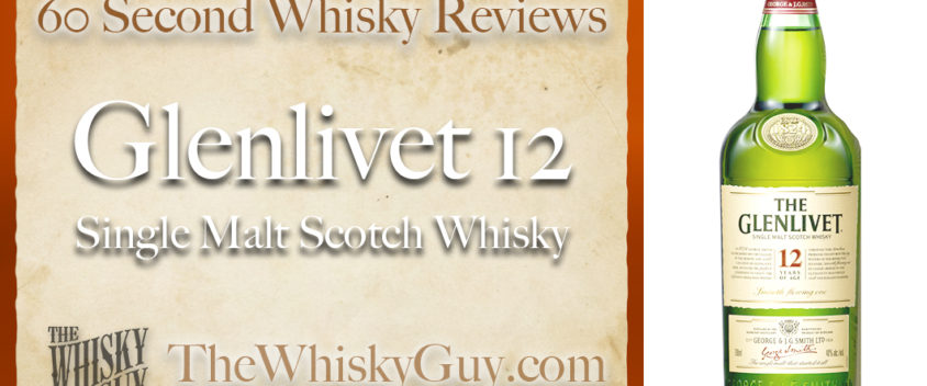 Does Glenlivet 12 Single Malt Scotch Whisky belong in your liquor cabinet? Is it worth the price at the bar? Give The Whisky Guy 60 seconds and find out! In just 60 seconds, The Whisky Guy reviews Irish Whiskey, Scotch Whisky, Single Malt, Canadian Whisky, Bourbon Whiskey, Japanese Whisky and other whiskies from around the world. Find more at TheWhiskyGuy.com. All original content © Ari Shapiro - TheWhiskyGuy.com
