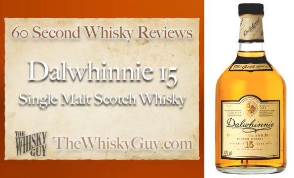 Does Dalwhinnie 15 Single Malt Scotch Whisky belong in your liquor cabinet? Is it worth the price at the bar? Give The Whisky Guy 60 seconds and find out! In just 60 seconds, The Whisky Guy reviews Irish Whiskey, Scotch Whisky, Single Malt, Canadian Whisky, Bourbon Whiskey, Japanese Whisky and other whiskies from around the world. Find more at TheWhiskyGuy.com. All original content © Ari Shapiro - TheWhiskyGuy.com
