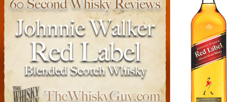 Does Johnnie Walker Red Label Blended Scotch Whisky belong in your liquor cabinet? Is it worth the price at the bar? Give The Whisky Guy 60 seconds and find out! In just 60 seconds, The Whisky Guy reviews Irish Whiskey, Scotch Whisky, Single Malt, Canadian Whisky, Bourbon Whiskey, Japanese Whisky and other whiskies from around the world. Find more at TheWhiskyGuy.com. All original content © Ari Shapiro - TheWhiskyGuy.com