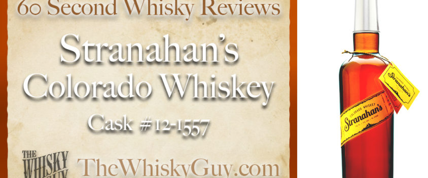 Does Stranahan's Colorado Whiskey Cask #12-1557 belong in your liquor cabinet? Is it worth the price at the bar? Give The Whisky Guy 60 seconds and find out! In just 60 seconds, The Whisky Guy reviews Irish Whiskey, Scotch Whisky, Single Malt, Canadian Whisky, Bourbon Whiskey, Japanese Whisky and other whiskies from around the world. Find more at TheWhiskyGuy.com. All original content © Ari Shapiro - TheWhiskyGuy.com