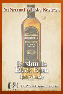 Should you spend your money on Bushmills Black Bush Irish Whiskey? Find out in 60 Seconds in Whisky Review #067 from TheWhiskyGuy! Watch and Subscribe at TheWhiskyGuy.com/YouTube