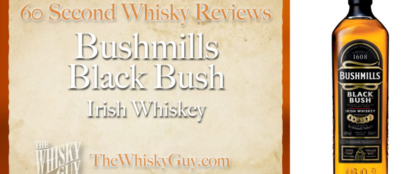 Does Bushmills Black Bush Irish Whiskey belong in your liquor cabinet? Is it worth the price at the bar? Give The Whisky Guy 60 seconds and find out! In just 60 seconds, The Whisky Guy reviews Irish Whiskey, Scotch Whisky, Single Malt, Canadian Whisky, Bourbon Whiskey, Japanese Whisky and other whiskies from around the world. Find more at TheWhiskyGuy.com. All original content © Ari Shapiro - TheWhiskyGuy.com