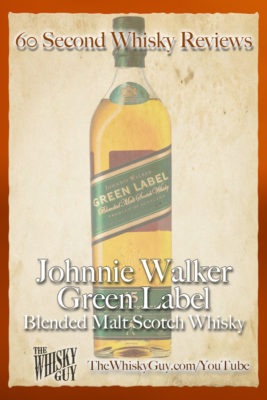 Should you spend your money on Johnnie Walker Green Label Blended Malt Scotch Whisky? Find out in 60 Seconds in Whisky Review #070 from TheWhiskyGuy! Watch and Subscribe at TheWhiskyGuy.com/YouTube