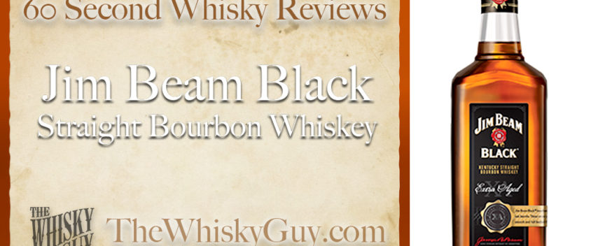 Does Jim Beam Black Straight Bourbon Whiskey belong in your liquor cabinet? Is it worth the price at the bar? Give The Whisky Guy 60 seconds and find out! In just 60 seconds, The Whisky Guy reviews Irish Whiskey, Scotch Whisky, Single Malt, Canadian Whisky, Bourbon Whiskey, Japanese Whisky and other whiskies from around the world. Find more at TheWhiskyGuy.com. All original content © Ari Shapiro - TheWhiskyGuy.com