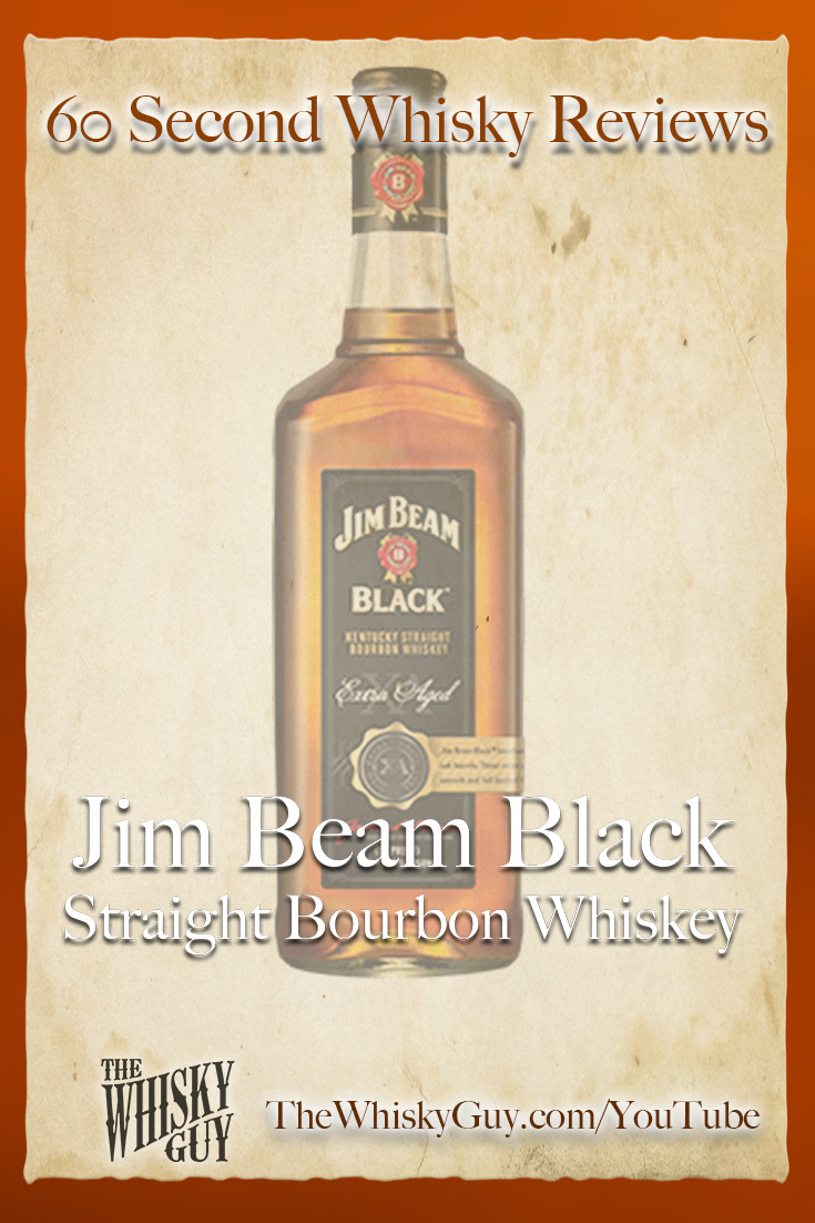 Should you spend your money on Jim Beam Black Straight Bourbon Whiskey? Find out in 60 Seconds in Whisky Review #072 from TheWhiskyGuy! Watch and Subscribe at TheWhiskyGuy.com/YouTube