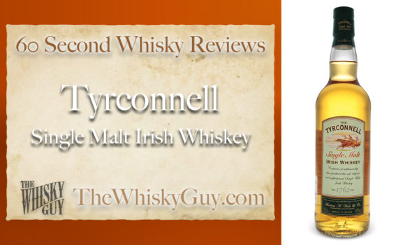 Does Tyrconnell Single Malt Irish Whiskey belong in your liquor cabinet? Is it worth the price at the bar? Give The Whisky Guy 60 seconds and find out! In just 60 seconds, The Whisky Guy reviews Irish Whiskey, Scotch Whisky, Single Malt, Canadian Whisky, Bourbon Whiskey, Japanese Whisky and other whiskies from around the world. Find more at TheWhiskyGuy.com. All original content © Ari Shapiro - TheWhiskyGuy.com