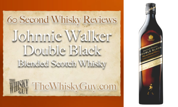 Does Johnnie Walker Double Black Blended Scotch Whisky belong in your liquor cabinet?  Is it worth the price at the bar? Give The Whisky Guy 60 seconds and find out!  In just 60 seconds, The Whisky Guy reviews Irish Whiskey, Scotch Whisky, Single Malt, Canadian Whisky, Bourbon Whiskey, Japanese Whisky and other whiskies from around the world. Find more at TheWhiskyGuy.com.  All original content © Ari Shapiro - TheWhiskyGuy.com