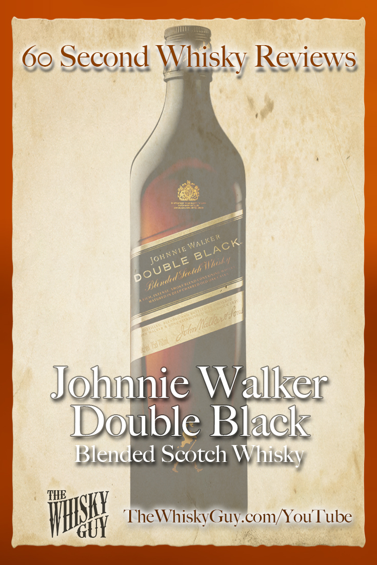 Should you spend your money on Johnnie Walker Double Black Blended Scotch Whisky? Find out in 60 Seconds in Whisky Review #XXX from TheWhiskyGuy! Watch and Subscribe at TheWhiskyGuy.com/YouTube