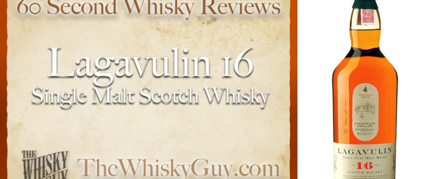 Does Lagavulin 16 Single Malt Scotch Whisky belong in your liquor cabinet? Is it worth the price at the bar? Give The Whisky Guy 60 seconds and find out! In just 60 seconds, The Whisky Guy reviews Irish Whiskey, Scotch Whisky, Single Malt, Canadian Whisky, Bourbon Whiskey, Japanese Whisky and other whiskies from around the world. Find more at TheWhiskyGuy.com. All original content © Ari Shapiro - TheWhiskyGuy.com