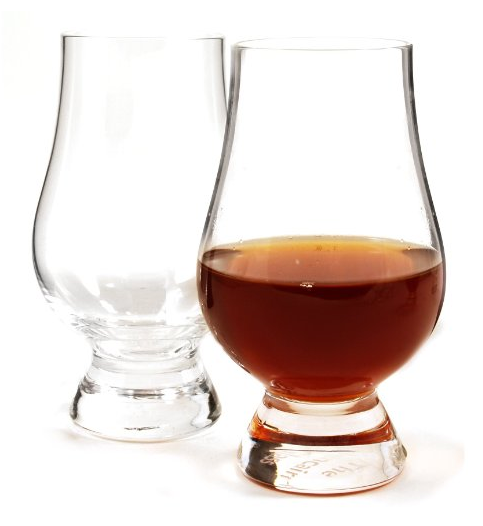 The preferred glass used by The Whisky Guy! The Glencairn glass is non-leaded Scottish crystal with a tulip shape - perfect for taking in all the great aromas of a whisky, be it Scotch, Bourbon, or anything else in the glass. Set of 2. TheWhiskyGuy.com/Shop