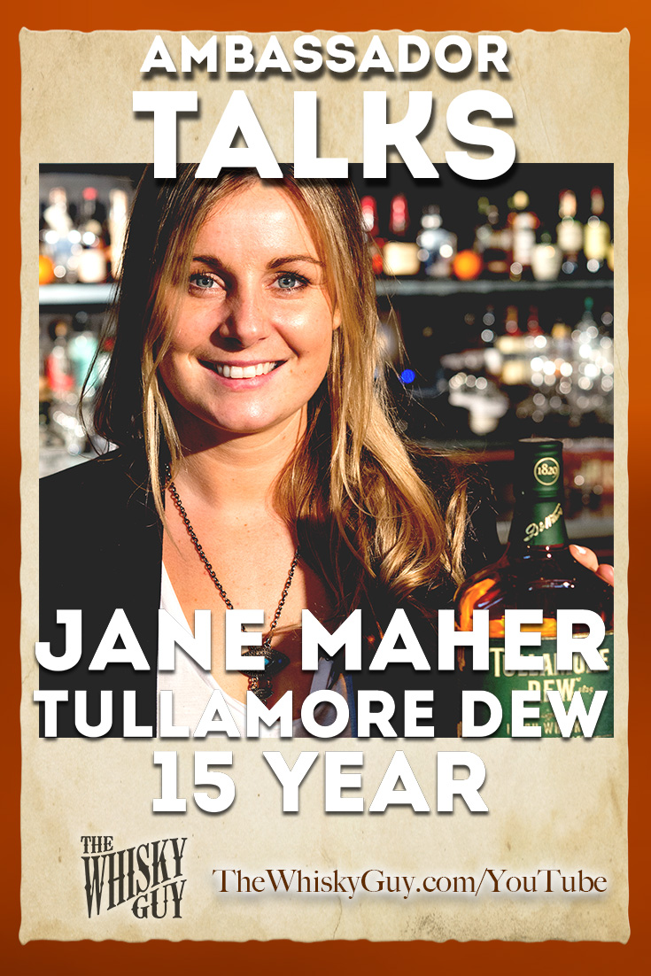 Want to get to know a whiskey? Watch as The Whisky Guy talks to Jane Maher - Western US Ambassador for Tullamore DEW as we taste Tullamore DEW 15 Year Old Irish Whiskey in Episode #003 of Ambassador Talks with The Whisky Guy! Watch and Subscribe at TheWhiskyGuy.com/YouTube