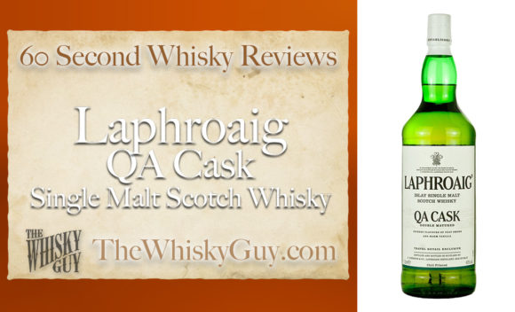 Does Laphroaig QA Cask Single Malt Scotch Whisky belong in your liquor cabinet? Is it worth the price at the bar? Give The Whisky Guy 60 seconds and find out! In just 60 seconds, The Whisky Guy reviews Irish Whiskey, Scotch Whisky, Single Malt, Canadian Whisky, Bourbon Whiskey, Japanese Whisky and other whiskies from around the world. Find more at TheWhiskyGuy.com. All original content © Ari Shapiro - TheWhiskyGuy.com